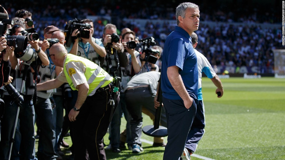 The 50-year-old had a difficult time with the Spanish press -- as he had with the Italian media when at Inter Milan -- but he was well-loved by English journalists during his time at Chelsea, where he is now expected to return.