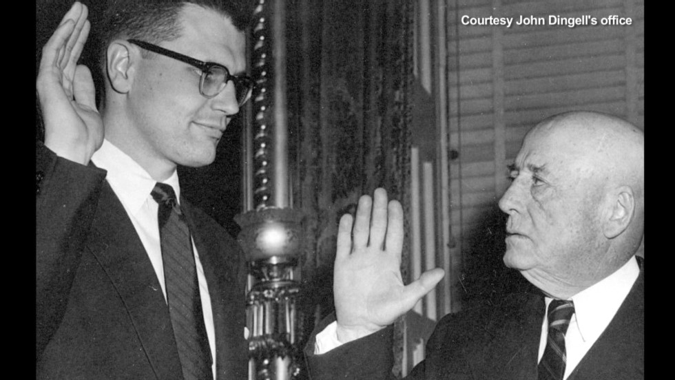 RIP John Dingell: Longest-serving member of Congress passed away on Thursday