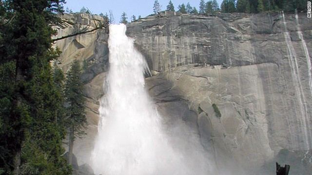 Yosemite National Park searching for 19-year-old teenage boy believed swept over the precipice of Nevada Fall in Yosemite National Park.