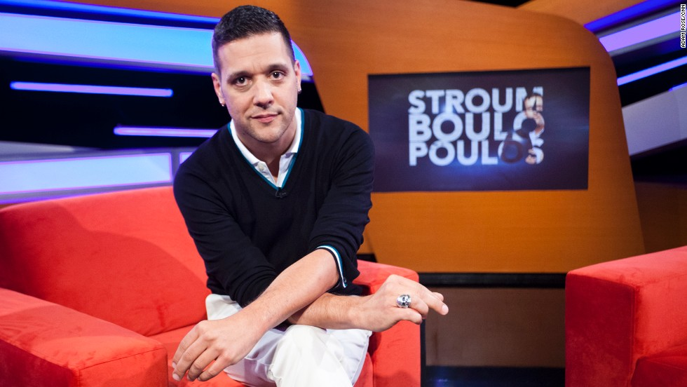 "George Stroumboulopoulos' talk show, ""Stroumboulopoulos,"" premieres on CNN at 10 p.m. ET Sunday. On June 14, ""Stroumboulopoulos"" will begin airing at 11 p.m. ET Fridays."