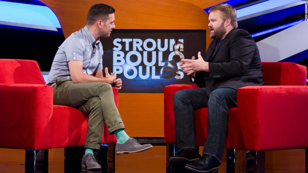 """Walking Dead"" comic book author Robert Kirkman will also be among the earliest guests on ""Stroumboulopoulos."""