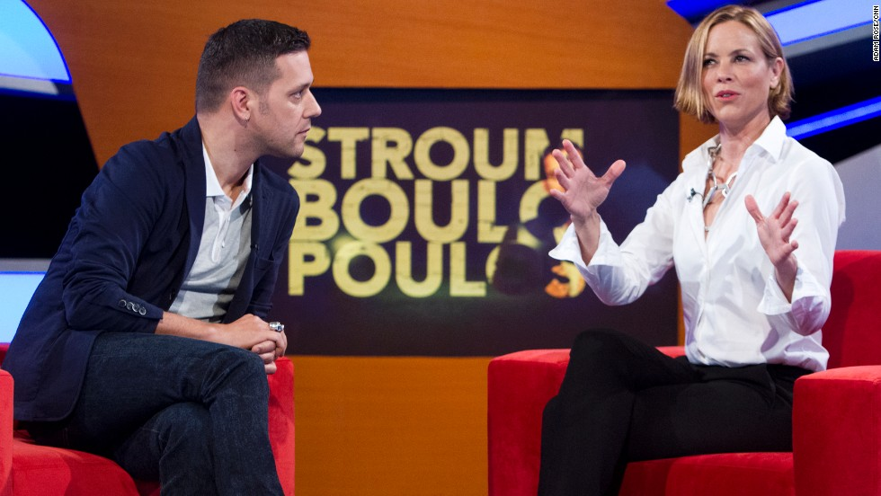 Stroumboulopoulos interviews actress Maria Bello.