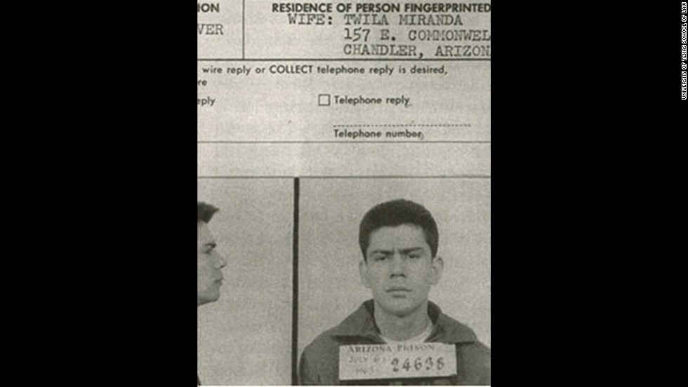 "<strong>Miranda v. Arizona (1966):</strong> Ernesto Miranda confessed to a crime without the police informing him of his right to an attorney or right against self-incrimination. His attorney argued in court that the confession should have been inadmissible, and in 1966, the Supreme Court agreed. The term ""Miranda rights"" has been used since."