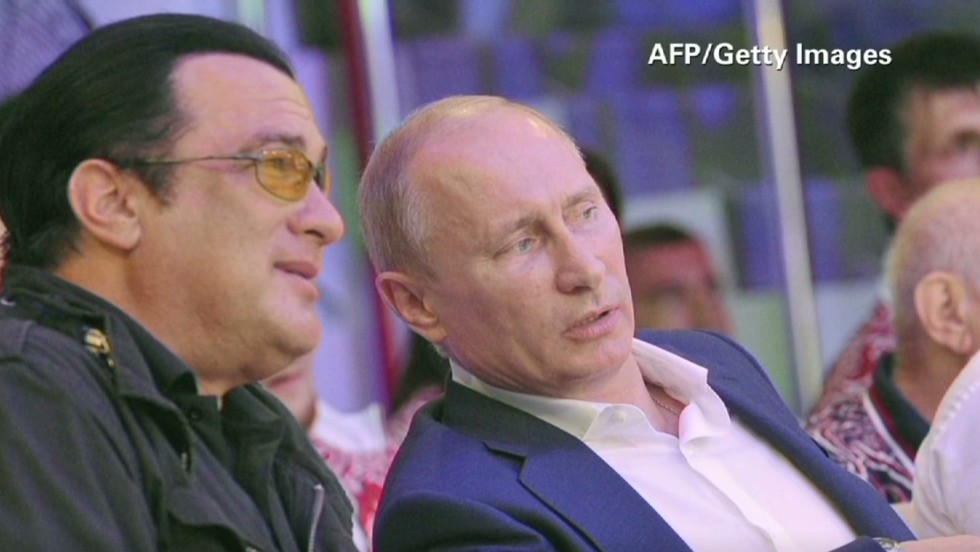 Russian Federation  appoints actor Steven Seagal as 'special representative'