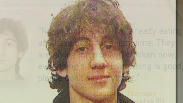 Dzhokhar Tsarnaev in his own words