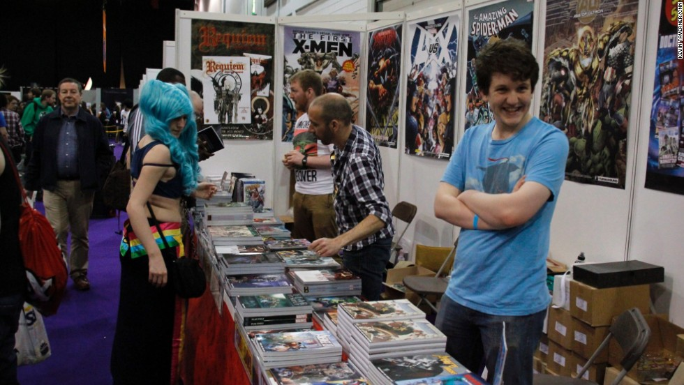A 2012 Bloomberg report noted that digital sales are rapidly rising.  Aside from print, many fans are consuming their comics on apps like comiXology, which has over 30,000 titles available.