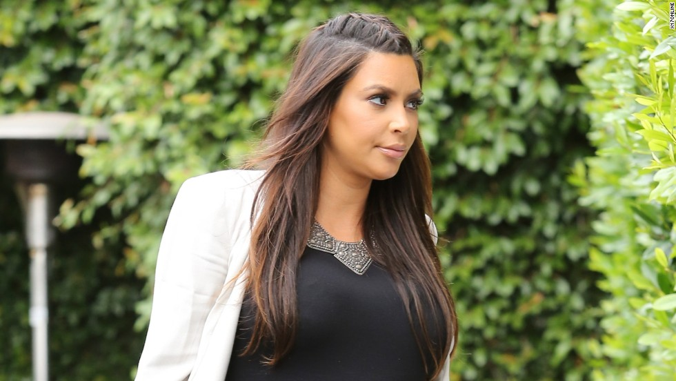 Kim Kardashian steps out in West Hollywood, California on June 3.