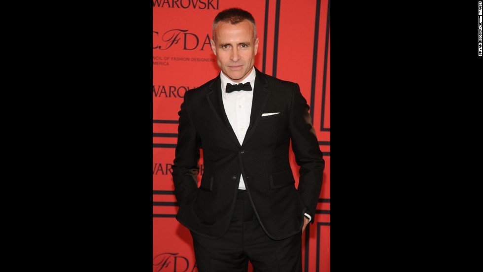 "<a href=""http://cfda.com/members#!thom-browne"" target=""_blank"">Thom Browne</a> says he draws inspiration from Steve McQueen in the ""Thomas Crown Affair,"" John F. Kennedy as the junior senator from Massachusetts, Sears catalogs. He won the Menswear Designer of the Year for a second time, having earned the distinction in 2006."