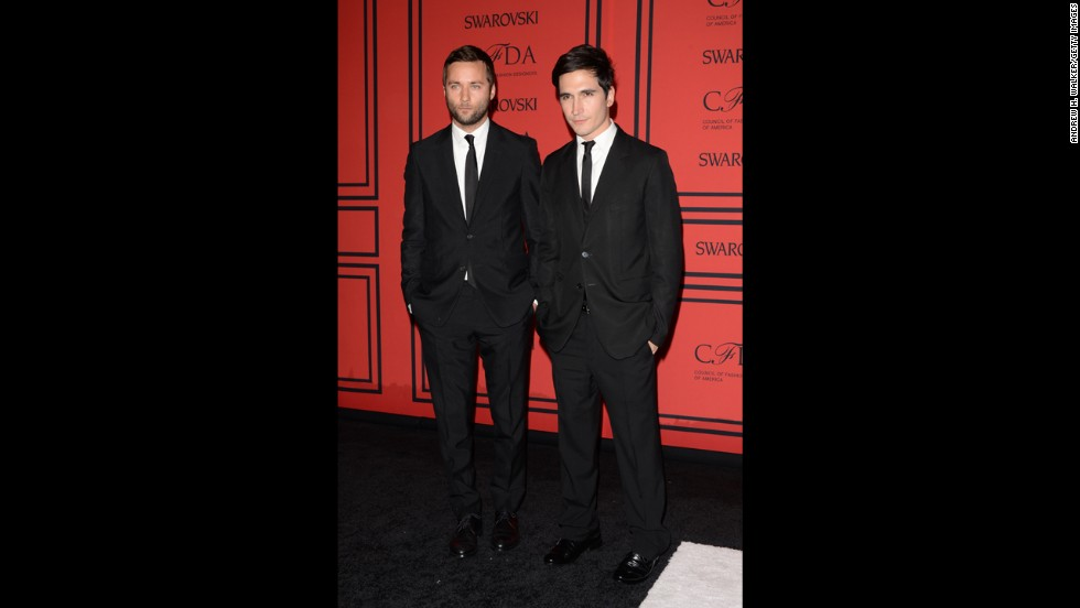 "<a href=""http://cfda.com/designer/jack-mccoullough-lazaro-hernandez-for-proenza-schouler-2"" target=""_blank"">Proenza Schouler</a> designers Jack McCollough, left, and Lazaro Hernandez took home the CFDA Womenswear Designer of the Year for the third time, having won the honor in 2007 and 2011."