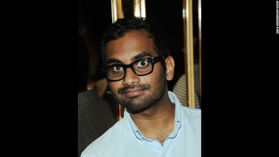 Comedian Aziz Ansari attends the 2013 CFDA Fashion Awards after-party.