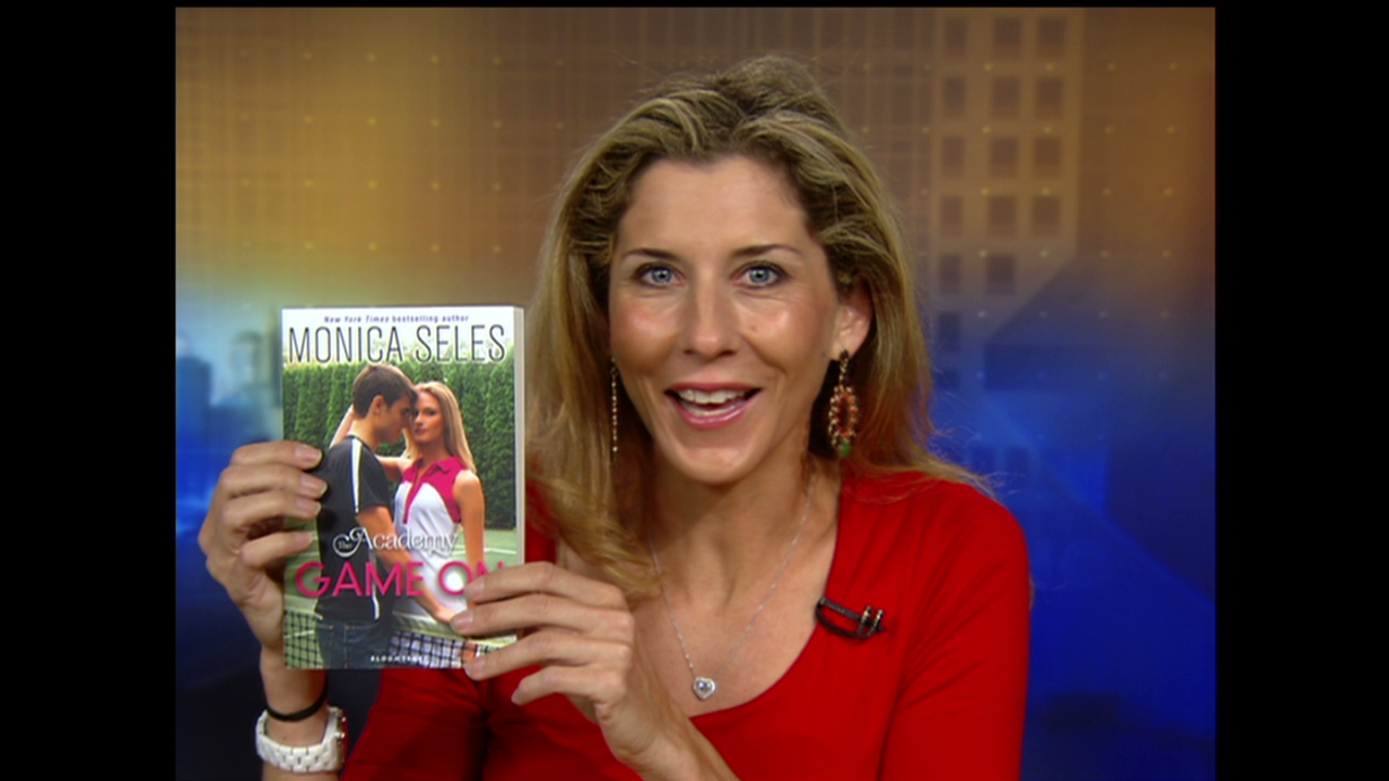 Monica Seles is now a novelist CNN Video