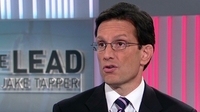 Cantor slams 'Obama IRS' for controversy