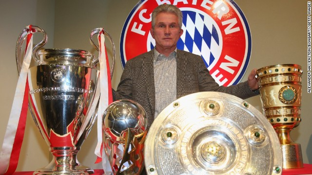 Jupp Heynckes is set to be succeeded as Bayern Munich coach by Josep Guardiola.