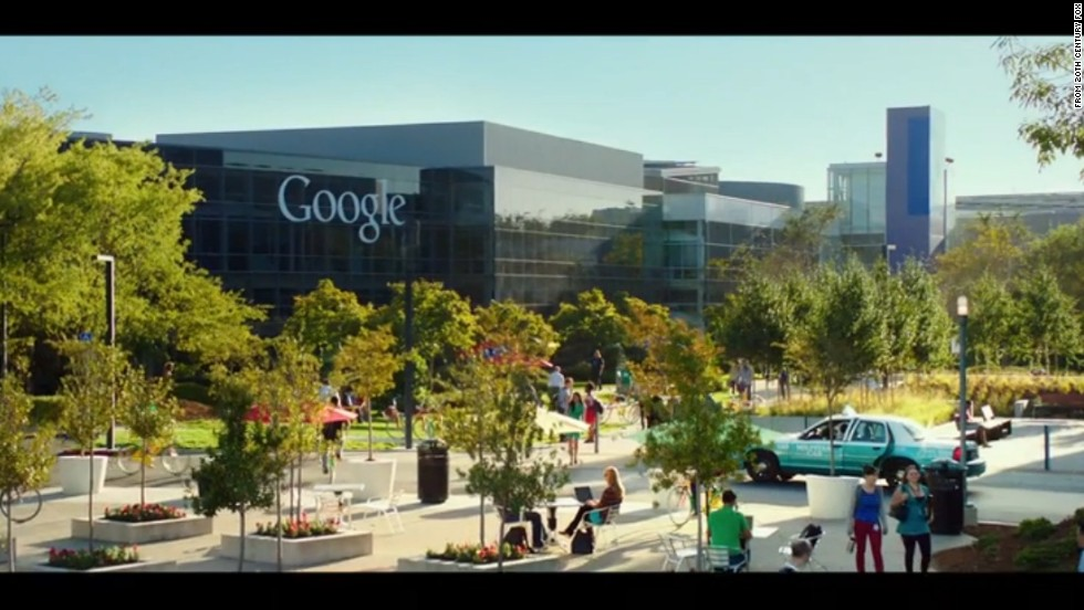 Filmmakers shot some exteriors on Google's Mountain View, California, campus, shown here, but most of the filming took place at Georgia Tech in Atlanta.