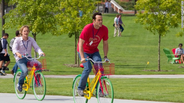 "Owen Wilson and Vince Vaughn star as a pair of aspiring  Google interns in ""The Internship."""