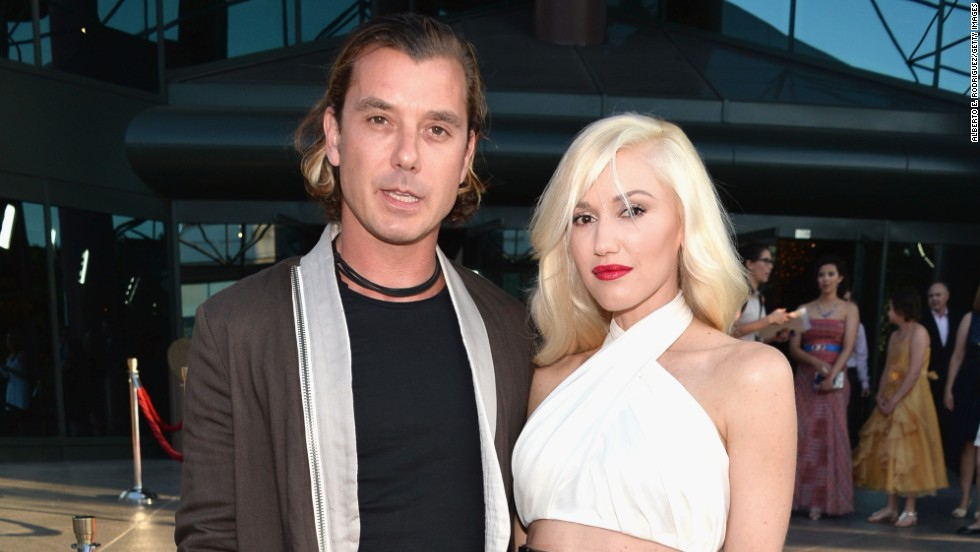 "Gavin Rossdale and Gwen Stefani attend the premiere of ""The Bling Ring"" on June 4."