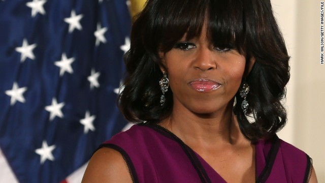 Radio host: You don't heckle first lady