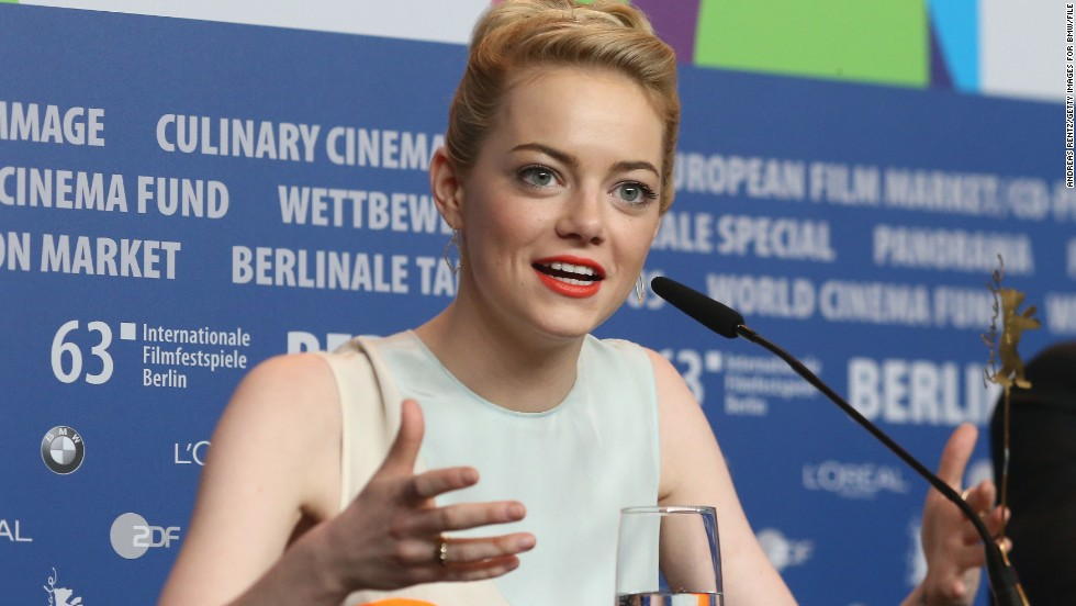 "Emma Stone's name has been mentioned frequently in the press as a possible casting choice. The 24-year-old has been a comedic standout in movies like ""Superbad"" and ""Easy A,"" but she's also turned in more dramatic work in the Oscar nominated movie ""The Help."" Stone is currently filming the sequel to 2012's ""The Amazing Spider-Man"" with beau Andrew Garfield."