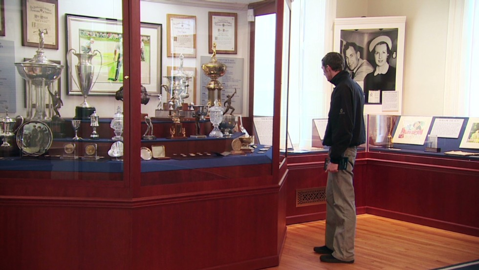 Merion's trophy cabinet reflects its staging of 18 USGA events and a host of important tournaments.