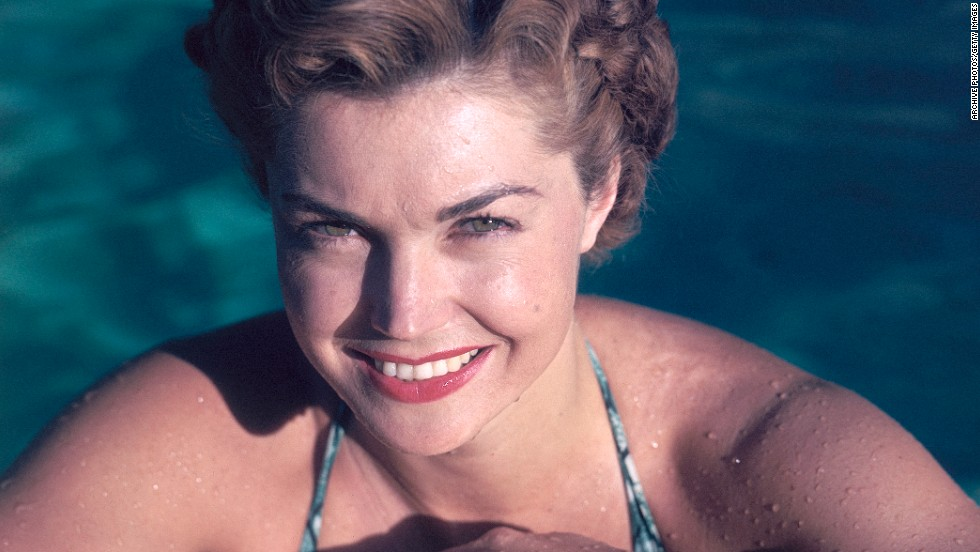 "<a href=""http://www.cnn.com/2013/06/06/us/obit-esther-williams/index.html"">Esther Williams</a>, whose success as a competitive swimmer propelled her to Hollywood stardom during the 1940s and 1950s, died on Thursday, June 6 in California, according to her spokesman."