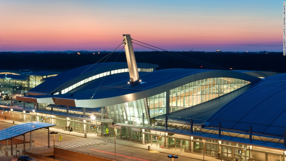 American firm Fentress Architects' design of Raleigh-Durham International Airport's Terminal 2 welcomes travelers coming to North Carolina.