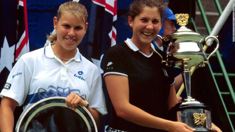 In 1996 Seles enjoyed a fourth Australian Open win, defeating Anke Huber in the final. But it would prove to be her final grand slam title as she struggled to regain the form she displayed before the attack, as she suffered weight problems.
