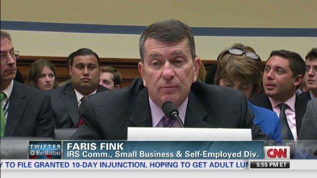 IRS's 'Mr. Spock': 'I apologize.'