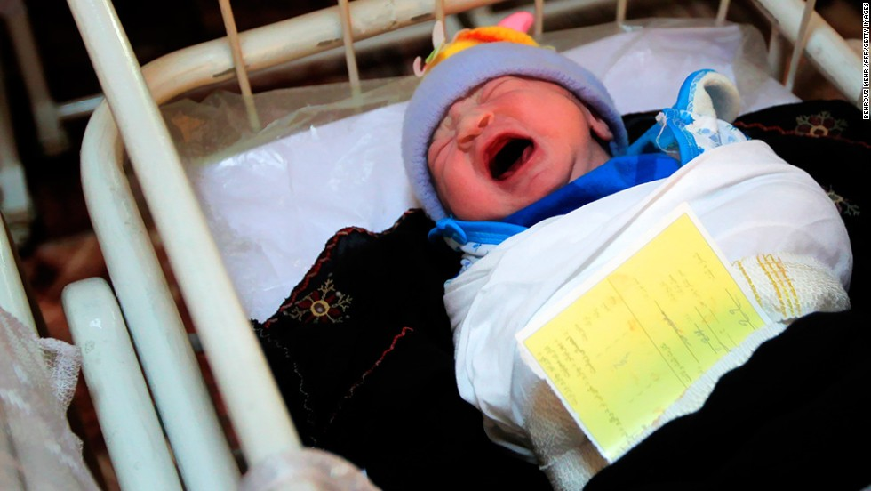 "<strong>Mothers die in childbirth:</strong> In one country, one in 100 live births kills the mother. <a href=""http://www.cnn.com/changethelist"">Vote here.</a>"
