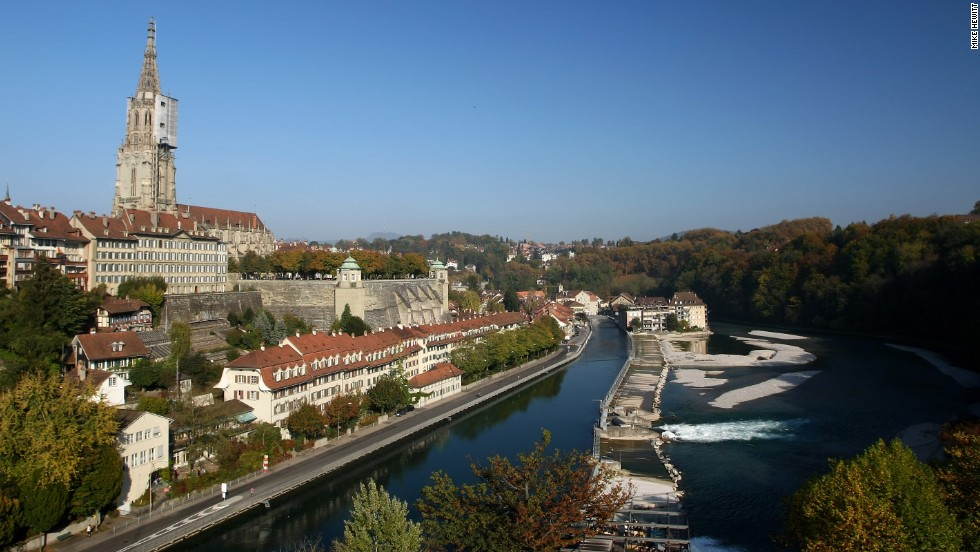 Switzerland's capital of Bern rounds out the top ten most expensive cities for expats in ECA International's 2013 survey.