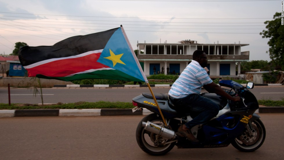South Sudan's capital of Juba is the fourth priciest city for overseas workers. The country only gained independence from Sudan in 2011 and jumped forty-one spots since ECA's 2012 survey. In this photo, a man rides a motorbike with a South Sudanese flag during celebrations in the streets of Juba ahead of South Sudan's independence first anniversary, on July 8, 2012.