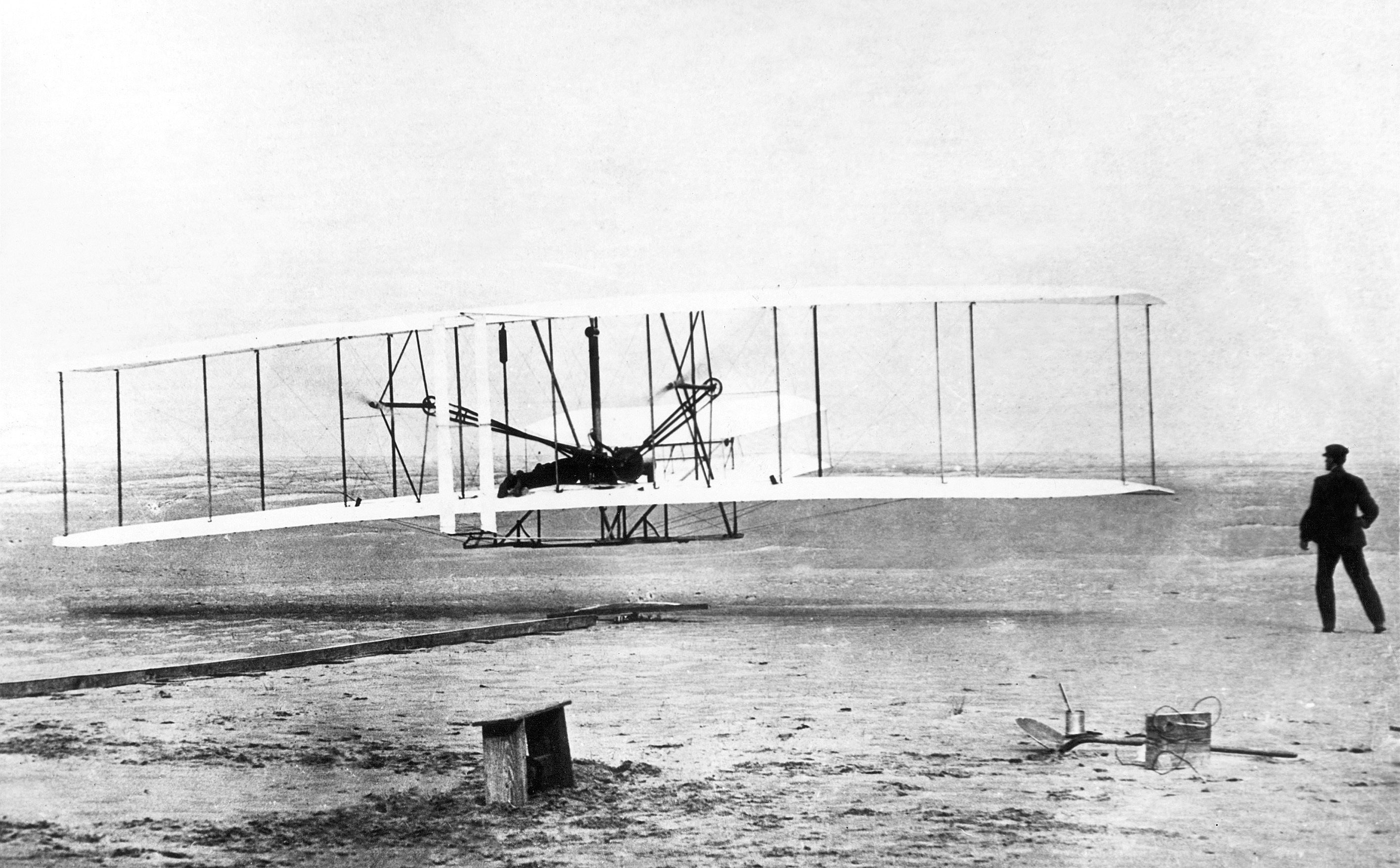 Wright Brothers Flight regarding were the wright brothers really first? photo sparks flight fight