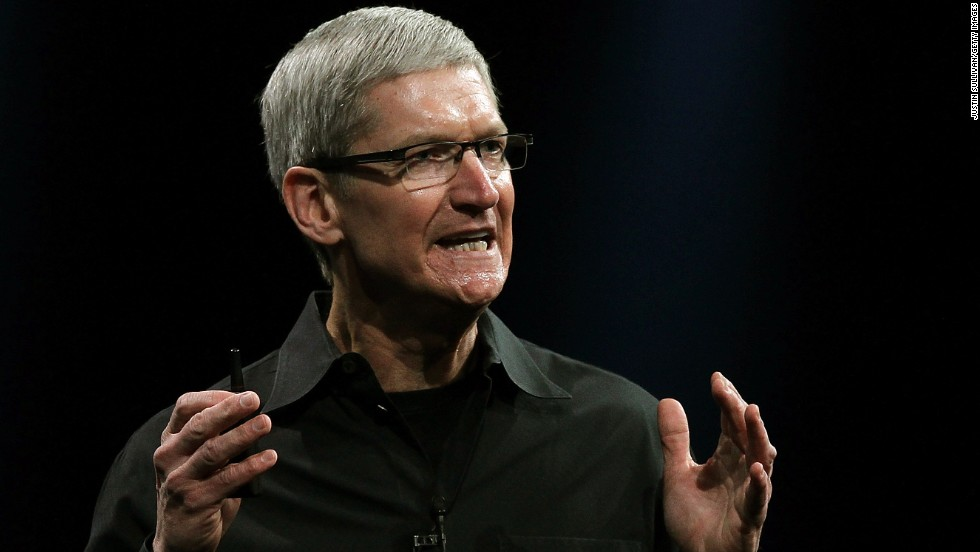 Tim Cook gave his first WWDC keynote at the 2012 conference, where he announced new models of the MacBook Air and MacBook Pro laptops.