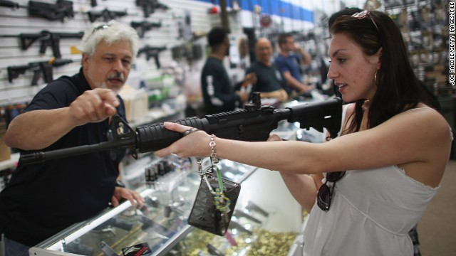 Gun sales boom on Black Friday