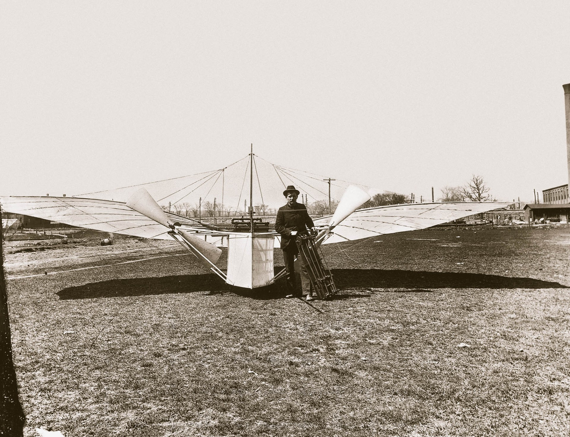 Were the Wright brothers really first? Photo sparks flight