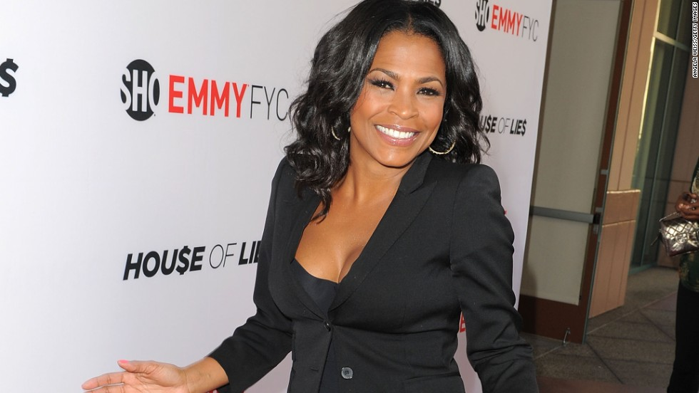 "Actress Nia Long arrives at Showtime's ""House of Lies"" screening and panel discussion on June 6."