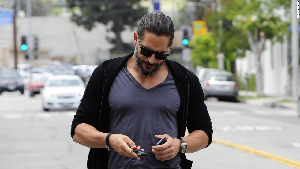"""True Blood"" star Joe Manganiello strolls through Los Angeles on June 6."