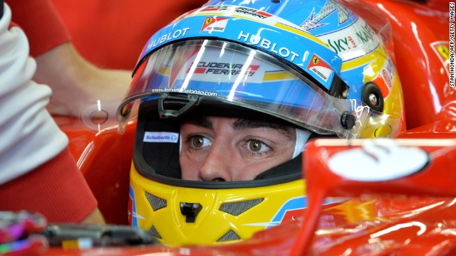 Fernando Alonso was the fastest in Friday's second practice session in Montreal ahead of Lewis Hamilton.