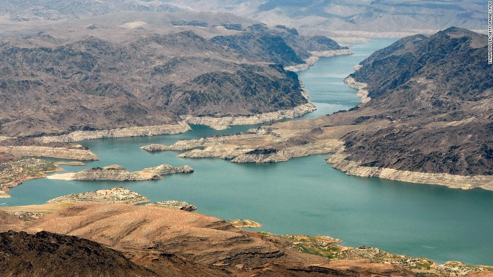 The Lake Mead National Recreation Area, in both Arizona (shown here) and Nevada, came in sixth place on the National Park Service list of most-visited park sites.