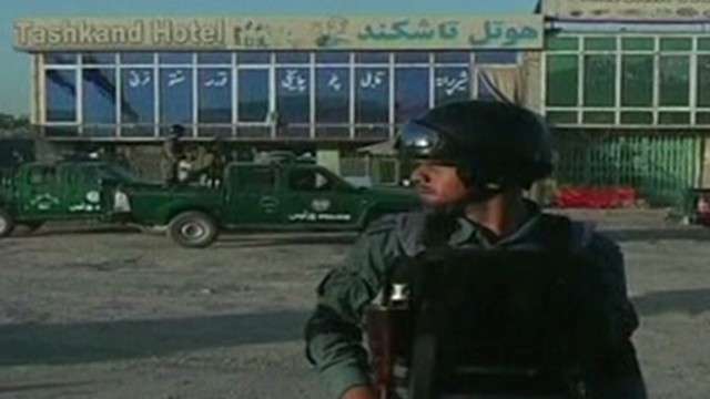 Firefight erupts near Kabul's airport