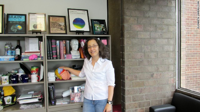 Martha Farah studies the connection between socioeconomic status and the brain at the University of Pennsylvania.