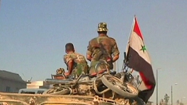 Outside groups may force action in Syria