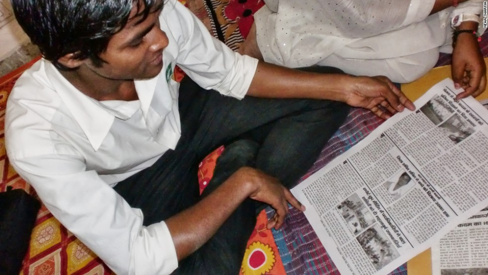 The newspaper helps to document life for the kids on the streets of the Indian capital's slums.