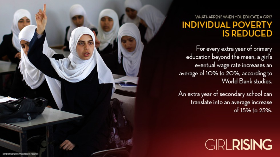 "<a href=""http://www.cnn.com/SPECIALS/world/girl-rising"">CNN Films' ""Girl Rising""</a> documents extraordinary girls and the power of education to change the world. Watch it at 9 p.m. ET June 16 on CNN."