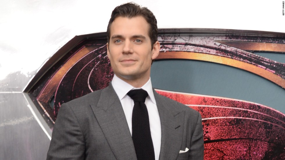 "Henry Cavill at the ""Man of Steel"" premiere."