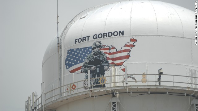 Residential garage doors are malfunctioning near Fort Gordon, Georgia, after an Army communications update.