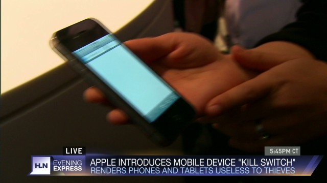 Apple feature could reduce phone theft