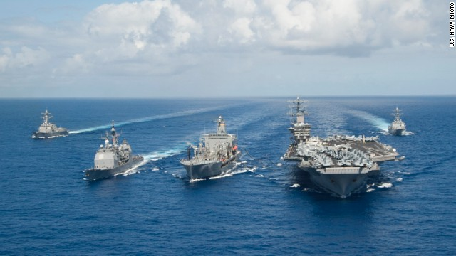 Communications between U.S. Navy ships will no longer be uppercase, the Navy announced.