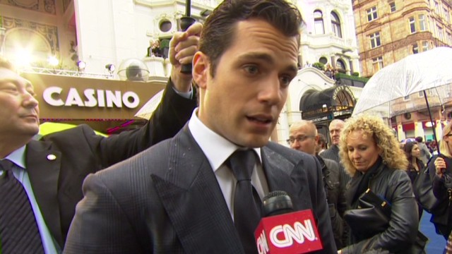 'Man of Steel' lands in London