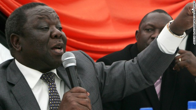 Mugabe's rival speaks about election
