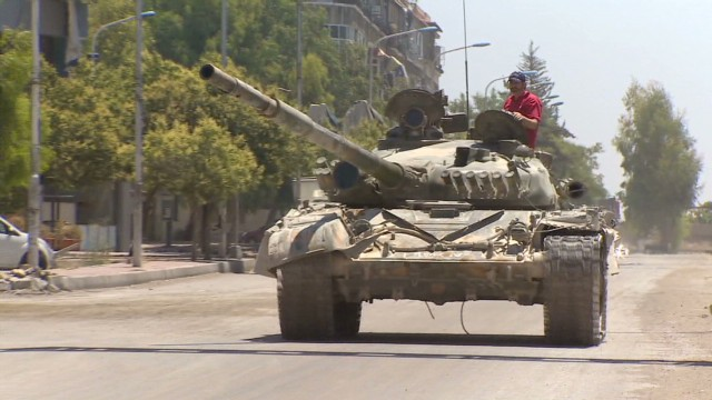 Syrian army gains ground against rebels